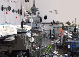 Star Wars Lego Sculpture