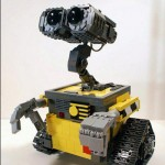 Wall e Lego Sculptures