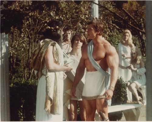 Arnold Schwarzenegger - Hercules in New York