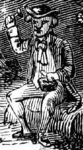 leprechaun engraving from 1900